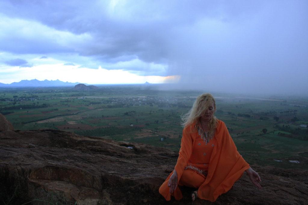Outside Storm inside Peace
