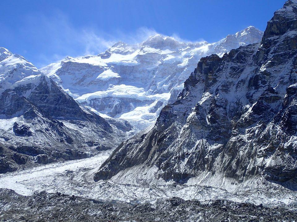 Kanchenjunga (8586 m ) view from base camp , Nepal