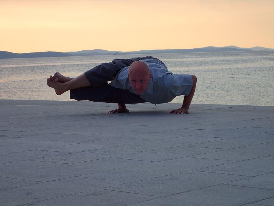 Astavakrasana Yoga pose
