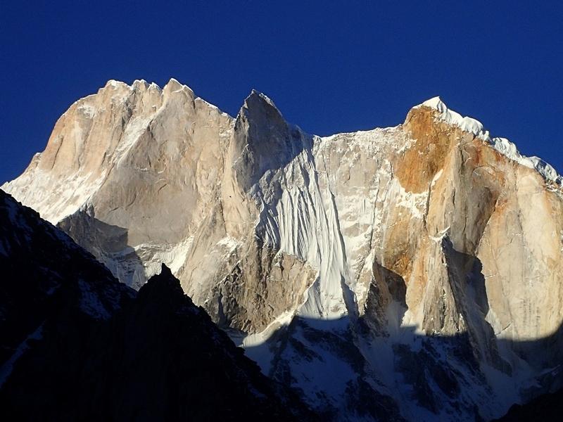 Meru peak near Tapovan India
